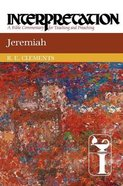 Jeremiah (Interpretation Bible Commentaries Series) Paperback