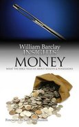 Money (William Barclay Insights Series) Paperback