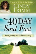 The 40 Day Soul Fast eBook