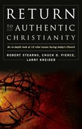 Return to Authentic Christianity eBook