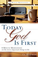 Tgif: Today, God is First eBook