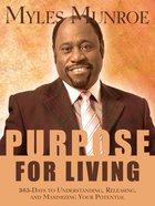 Purpose For Living eBook
