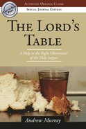 The Lord's Table eBook