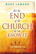It's the End of the Church as We Know It eBook