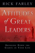Attitudes of Great Leaders eBook