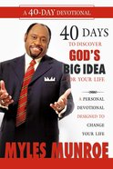 40 Days to Discovering God's Big Idea For Your Life eBook