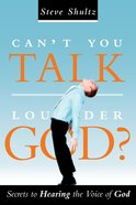 Can't You Talk Louder God? eBook