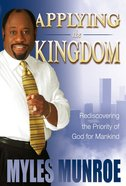 Applying the Kingdom (#03 in Understanding The Kingdom Series) eBook