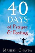 40 Days of Prayer and Fasting eBook