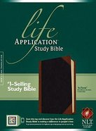 NLT Life Application Study Bible Tutone Black/Brown Imitation Leather