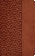 NKJV Giant Print Center-Column Reference Bible Auburn Imitation Leather