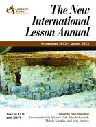 New International Lesson Annual (2012 - 2013) Paperback