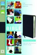 NIV Thinline Large Print Leather Bible