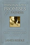 Personalized Promises For Fathers Paperback