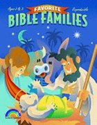Favorite Bible Families Ages 2 & 3 (Favourite Bible Families Series) Paperback