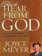How to Hear From God (Large Print) Paperback