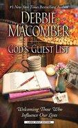 God's Guest List (Large Print) Paperback