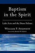 Baptism in the Spirit Paperback