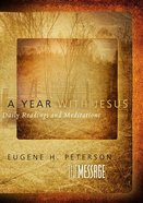 A Year With Jesus Devotional Hardback