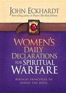 Women's Daily Declarations For Spiritual Warfare Hardback
