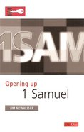 1 Samuel (Opening Up Series) Paperback