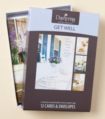 Boxed Cards Get Well: Sunny Days