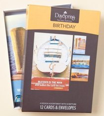 Boxed Cards Birthday: Nautical (Masculine)