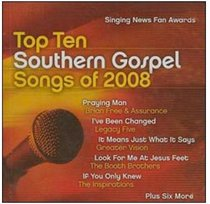 Singing News Top Ten 2008