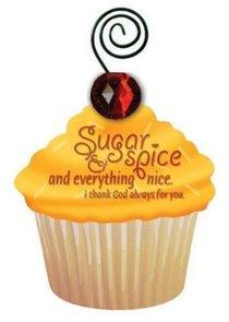 Be Sweet Cupcake Magnet: Sugar & Spice