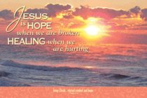 Poster Small: Jesus is Hope