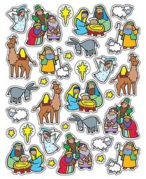 Sticker Pack: The Nativity
