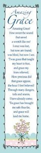 Bookmark Pack: Amazing Grace (Pack Of 10)