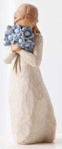 Willow Tree Figurine: Forget Me Not