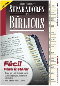 Bible Tabs Verse Finders Spanish Gold (Horizontal)