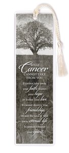 Hope Collection: Bookmark - Cancer Black & White