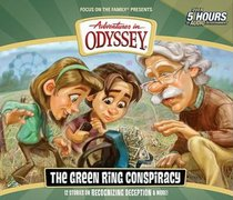 The Green Ring Conspiracy (4 CDS) (#53 in Adventures In Odyssey Audio Series)