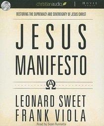 Jesus Manifesto (Unabridged, 8 Cds)