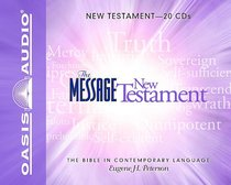 Message New Testament 20 CDS (Unabridged)