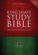 KJV Student Study Bible Burgundy (Red Letter Edition) (Supersaver) Bonded Leather