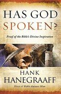 Has God Spoken? Hardback