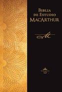 Rvr 1960 Biblia De Estudio Macarthur Brown (Black Letter Edition) (Macarthur Study Bible)