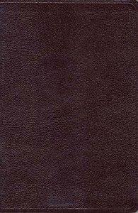 NKJV Giant Print Center-Column Reference Bible Burgundy