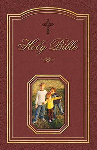 KJV Grandmothers Memories Bible Leathersoft Autumn Brown