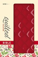 NIV Thinline Bible Quilted Cherry (Red Letter Edition)