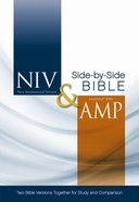 NIV Amplified Side-By-Side Bible Hardback