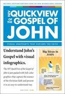 NIV Quickview of the Gospel of John (Pk 20) Pack