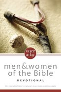 Once-A-Day Men and Women of the Bible Devotional Paperback