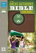 NIV Great Outdoors Bible For Kids Bark Brown (Red Letter Edition) Imitation Leather