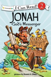 Jonah - Gods Messenger (I Can Read!2/biblical Values Series)