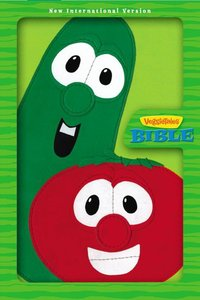 NIV Veggie Tales Bible Lime Green Duo-Tone